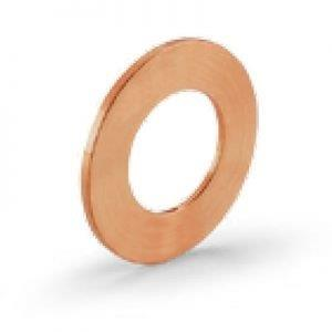 Juntas de vedação em cobre